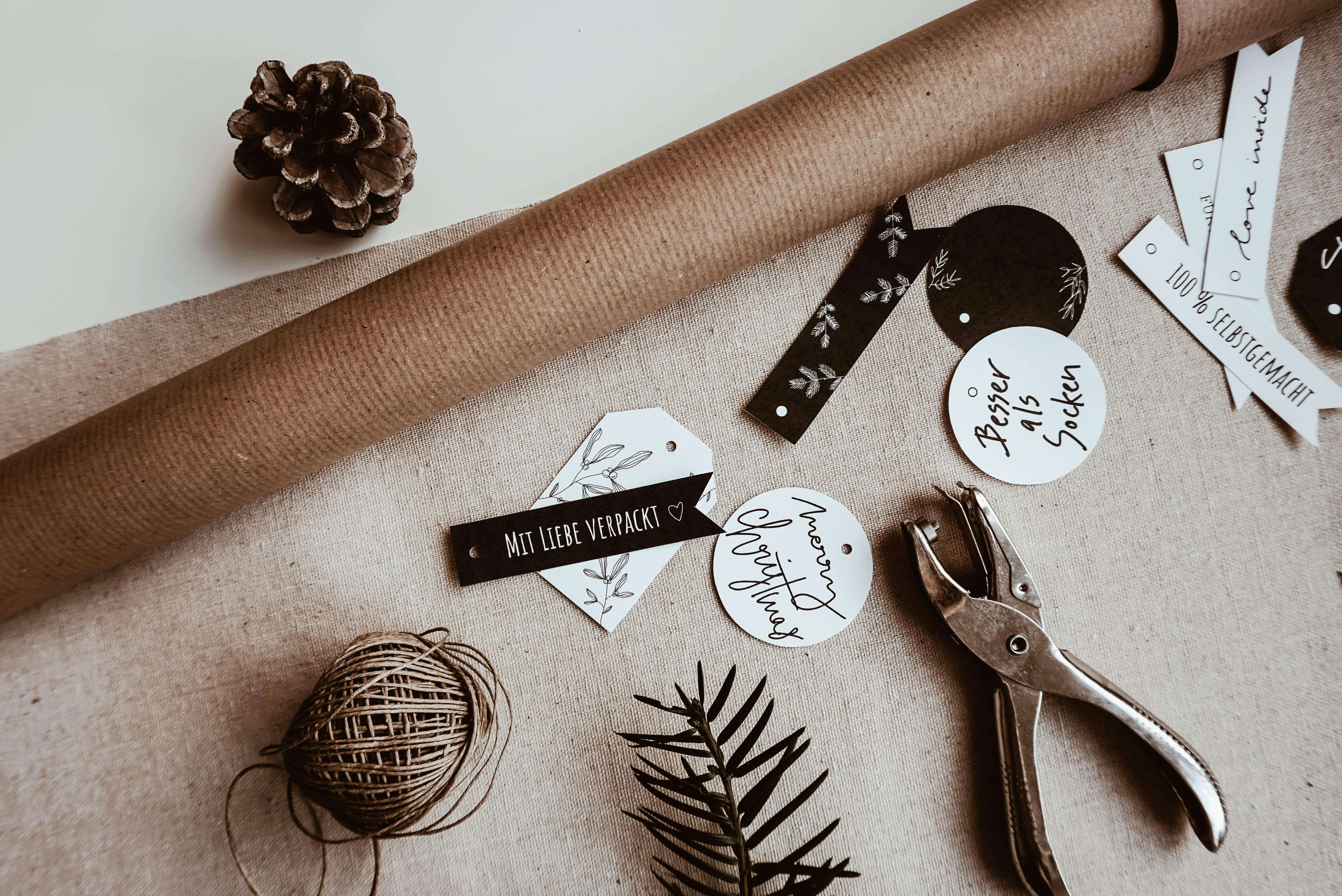 Geschenke einpacken DIY