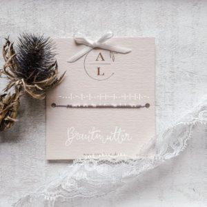 Morsecode-Armband Brautmutter