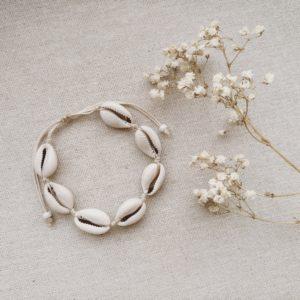 Kauri Muschelfußband Fußkette